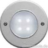 Luminaire for recessed- and surface mounting