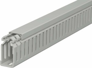 Slotted cable trunking system 50 mm 25 mm 6178310