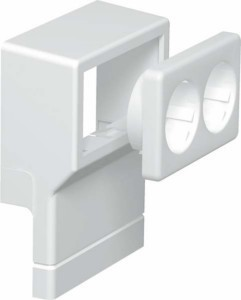 Appliance box for skirting duct 70 mm 20 mm 1 6199421