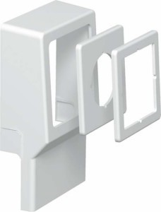 Appliance box for skirting duct 70 mm 20 mm 1 6199448