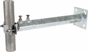 Rod holder for lightning protection With screw clamp 105343