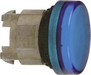 Front element for indicator light 1 Blue Round ZB4BV063