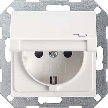 GIRA 027003 switch plate//outlet cover