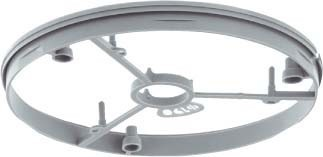Accessories for luminaire mounting box Front ring 1292-10