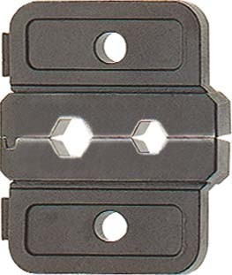 Insert for crimp tool cable lugs, cable end sleeves, screen conn