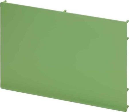 Endplate and partition plate for terminal block Green 2956822