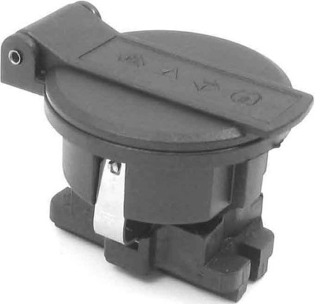 Equipment mounted socket outlet (SCHUKO) Plastic 91 010 000