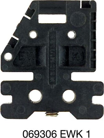 End bracket for terminal block Black Other Other 0693060000