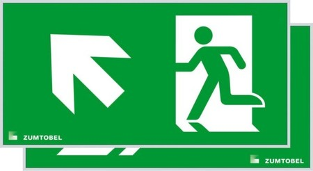 Pictogram for emergency luminaire  22900434
