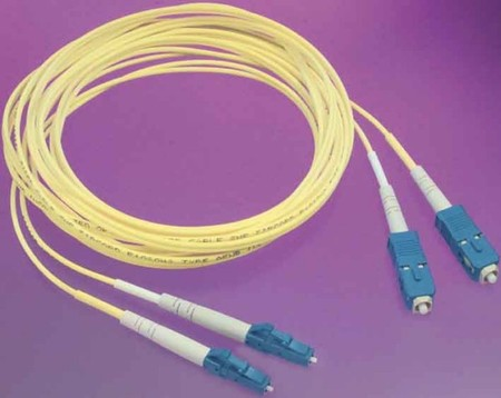 Fibre optic patch cord Single mode OS1 2 1-6536508-0