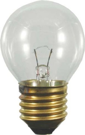 Sphere-shaped incandescent lamp 60 W 230 V 43397