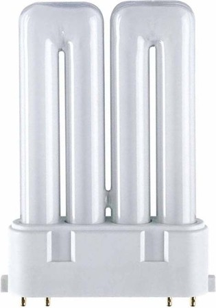 Compact fluorescent lamp 18 W 1100 lm 2G10 (4-pins) F18W840