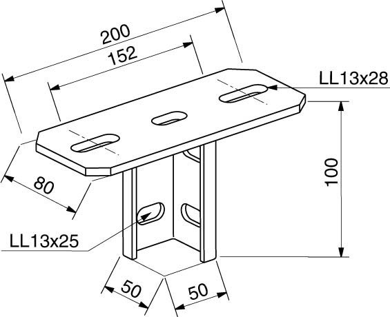 Rico Mounting Material For Cable Support System 17j40