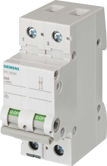 Main Switch For Distribution Board Off 2 5TL12400
