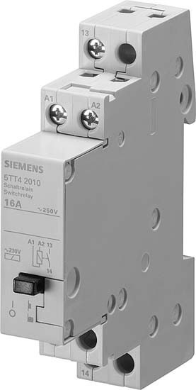 Siemens indusctor installation relay 5tt42070 5tt4207 0 installation relay partially electronic din rail 1 5tt42070 ccuart Images