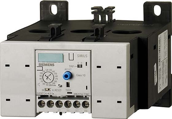 Siemens IndusSector Electronic overload relay 3RB20561FC2 3RB2056